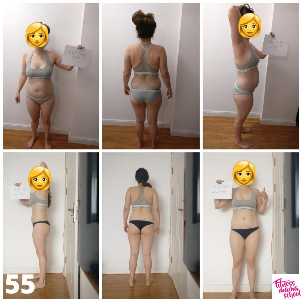 before after fitnessmama 13